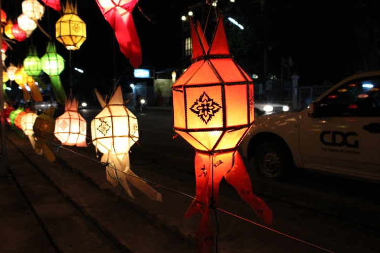 These beautiful lanterns are common in northern Thailand.