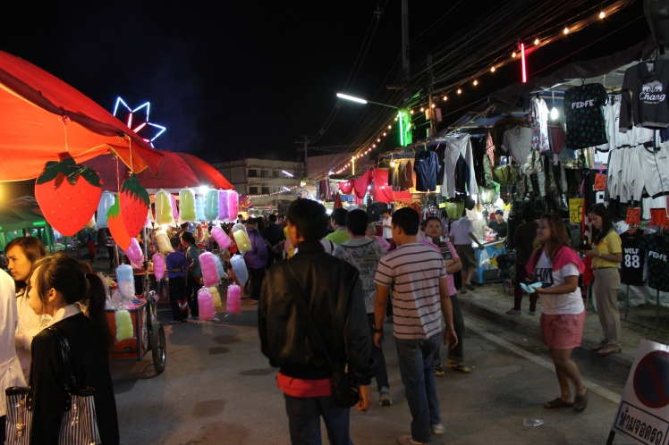 The annual Winter and Red Cross Fair in Phayao.