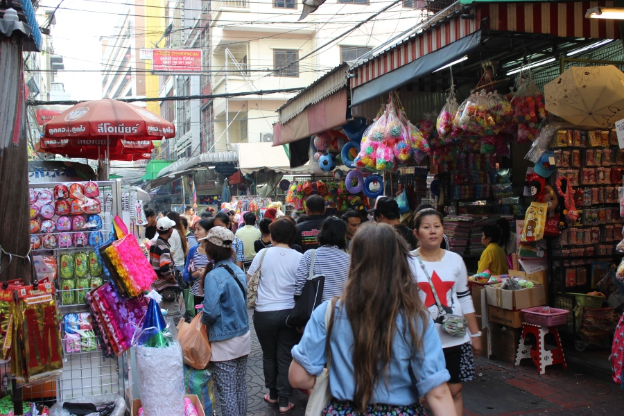 Chinatown in Bangkok.