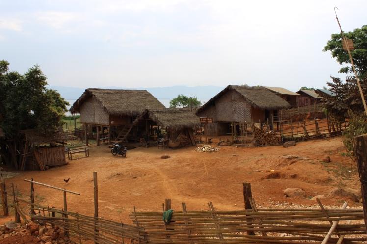 Lakeside villages.
