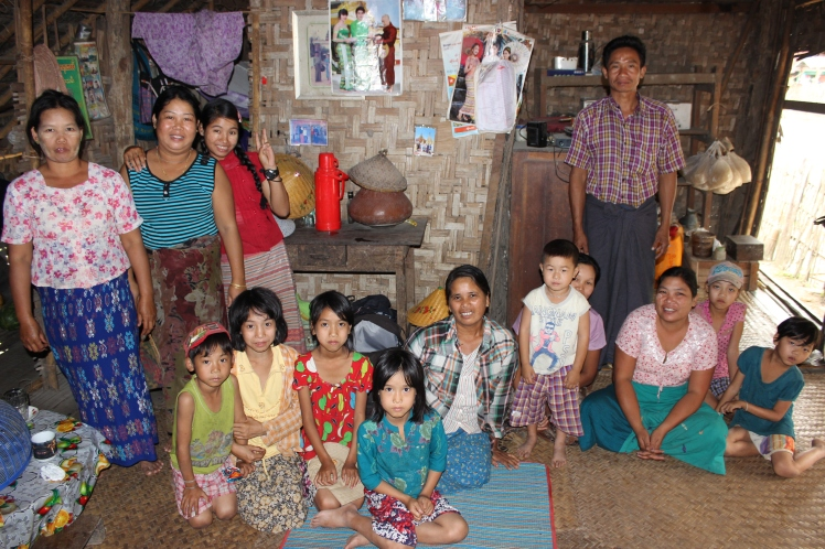 These locals kindly invited me into their home for a meal, showing me such hospitality.