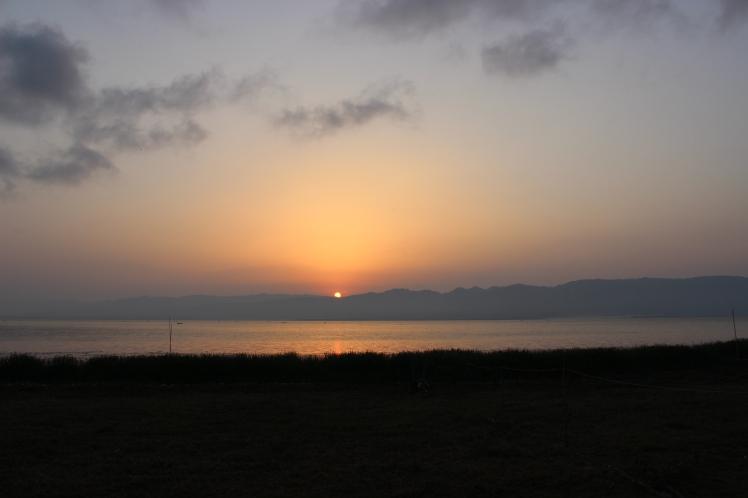 Sunrise from my window.