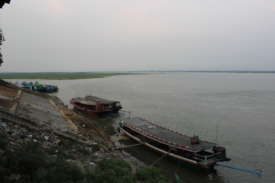 Ayeyarwady River.